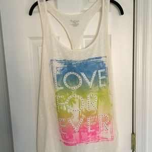 Lane Bryant graphic tank top